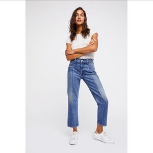 Free People Levi's Altered Straight Leg Jeans